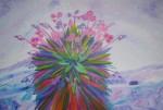 Obras de arte: America : Colombia : Santander_colombia : Bucaramanga : Frailej�n Rosado