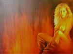 Obras de arte: America : Argentina : Buenos_Aires : Capital_Federal : Fuego