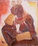 Obras de arte: Europa : España : Catalunya_Tarragona : Reus : Mujer Herero