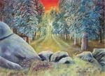 Obras de arte: America : Argentina : Entre_Rios : Paraná : Rocas en el bosque