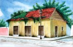 Obras de arte: America : México : Campeche : Campeche_ciudad : Casa de Madera, Isla del Carmen