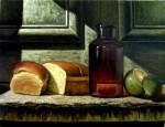 Obras de arte: America : Cuba : Ciudad_de_La_Habana : Cotorro : el pan a la puerta