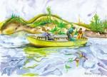 Obras de arte: America : Chile : Tarapaca : Arica : Pesca Chilota