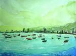 Obras de arte: America : Chile : Tarapaca : Arica : Desde Península Iquique