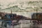 Obras de arte: Europa : España : Euskadi_Bizkaia : Bilbao : Puente-Colgante-Vizcaya