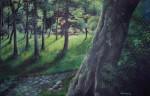 Obras de arte: America : Argentina : Entre_Rios : Paraná : Claro en el bosque
