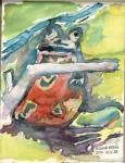 Obras de arte: Europa : España : Galicia_Pontevedra : pontevedra : una rana en un cuento de hadas