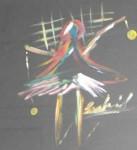 Obras de arte: Africa : Marruecos : Tanger-Tetouan : Tanger : niña jugando