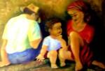 Obras de arte: America : Colombia : Valle_del_Cauca : Palmira : SANTA CENA EN EL SEMÁFORO
