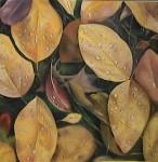 Obras de arte: Europa : España : Galicia_Pontevedra : pontevedra : bodegon hojas