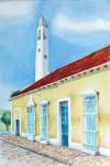 Obras de arte: America : México : Campeche : Campeche_ciudad : Casa amarilla