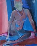 Obras de arte: Europa : Alemania : Berlin : Willmersdorf : act in blue and red