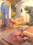 Obras de arte: Europa : España : Valencia : moncada : patio (ejercicio en el taller)