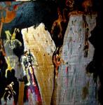Obras de arte: Europa : España : Madrid : alcala_de_henares : Estos muros están hechos de ...