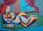Obras de arte: America : Estados_Unidos : Florida : miami : La dama