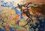Obras de arte: Europa : España : Galicia_Lugo : lugo_ciudad : Teacher running