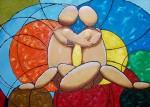 Obras de arte: Europa : España : Catalunya_Tarragona : Reus : AMANTES