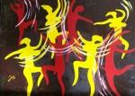Obras de arte: Europa : España : Catalunya_Tarragona : Reus : LA PRIMERA DANZA DEL MUNDO