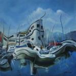 Obras de arte: America : Uruguay : Montevideo : Montevideo_ciudad : CIELO DE ANCLAS