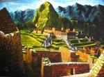Obras de arte: America : Perú : Cusco : cusco_ciudad : machupicchu 2