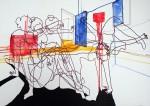 Obras de arte: Europa : Portugal : Lisboa : Parede : ALTERAÇAO DE HUMOR