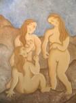 Obras de arte: Europa : España : Aragón_Zaragoza : zaragoza_ciudad : Mujeres en las rocas