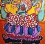 Obras de arte: America : Paraguay : Amambay : Pedro_Juan_Caballero : flores