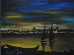 Obras de arte: America : Colombia : Boyaca : duitama : Su noche ilumino.