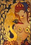 Obras de arte: Europa : Alemania : Nordrhein-Westfalen : Lippstadt : Jungfrau mit goldenem Schwan