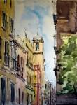 Obras de arte: Europa : España : Andalucía_Sevilla : Sevilla-ciudad : CALLE SEVILLANA