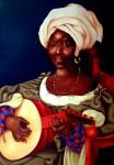 Obras de arte: America : Cuba : La_Habana : Vedado : La Negra