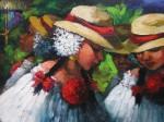Obras de arte: America : Panamá : Veraguas : Santiago_de_Veraguas : Empolleradas.El Sentimiento