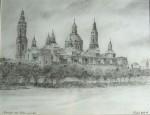 Obras de arte: Europa : España : Catalunya_Tarragona : Reus : basilica del pilar -años 20
