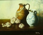 Obras de arte: Africa : Marruecos : Tanger-Tetouan : Larache : Jarras y Cabezas