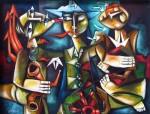 Obras de arte: America : Cuba : Ciudad_de_La_Habana : miramar_playa : La Ciudad es los actos