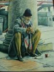 Obras de arte: Africa : Marruecos : Tanger-Tetouan : Larache : El Mendigo del Metro de Milán