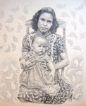 Obras de arte: America : Colombia : Santander_colombia : Bucaramanga : Madre e hija