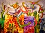 Obras de arte: America : Bolivia : Cochabamba : Cochabamba_ciudad : Rebelión