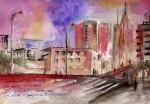 Obras de arte: Europa : España : Catalunya_Barcelona : Castelldefels : Enciendes la tarde