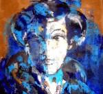 Obras de arte: Europa : España : Murcia : Murcia_ciudad : mujer de azul