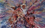 Obras de arte: America : México : Sonora : Navojoa : CARGANDO AL AMO, Colec. privada