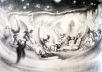 Obras de arte: America : México : Jalisco : Guadalajara : olograma en zona pasional