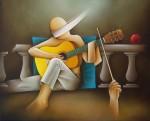 Obras de arte: Europa : España : Andalucía_Málaga : malaga : concierto de guitarra
