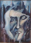 Obras de arte: America : Argentina : Buenos_Aires : Caballito : ROSTRO DE MI CIUDAD