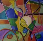 Obras de arte: Europa : España : Valencia : Alicante : Tres tomates