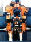 Obras de arte: America : Bolivia : Cochabamba : Cochabamba_ciudad : Hombre cósmico