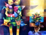 Obras de arte: America : Bolivia : Cochabamba : Cochabamba_ciudad : Cópula metafísica