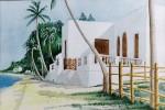 Obras de arte: America : México : Campeche : Campeche_ciudad : Casa Blanca Campeche 1900