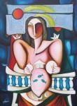 Obras de arte: America : Cuba : Ciudad_de_La_Habana : miramar_playa : Acunando el éxodo.