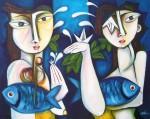 Obras de arte: America : Cuba : Ciudad_de_La_Habana : miramar_playa : Despedida.